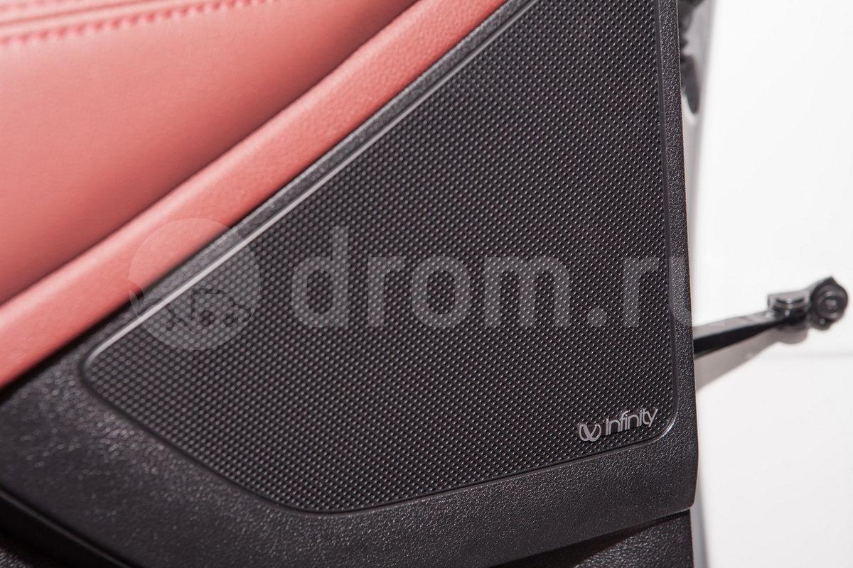 Дополнительное оборудование аудиосистемы: 9 динамиков, сабвуфер, AUX, USB, SD-карта