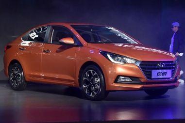 Hyundai представил в Китае новый Solaris