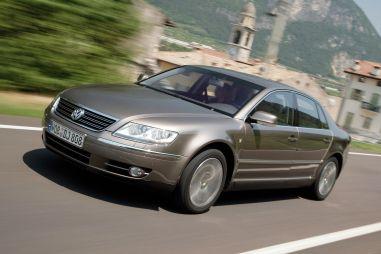 В России отзывают Volkswagen Phaeton и Audi A8