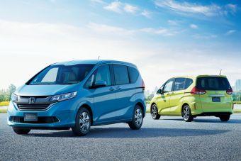 Хонда планирует продавать по 5000 минивэнов Фрид и Фрид+ в Японии каждый месяц.