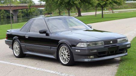 В США выставлен напродажу редкий Toyota Soarer Aerocabin 1989года