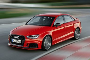Седан Audi RS3 оснастили 5-цилиндровым 400-сильным мотором