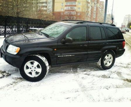 Jeep Grand Cherokee 2004 - отзыв владельца