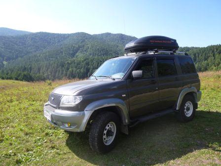 УАЗ Патриот 2007 - отзыв владельца