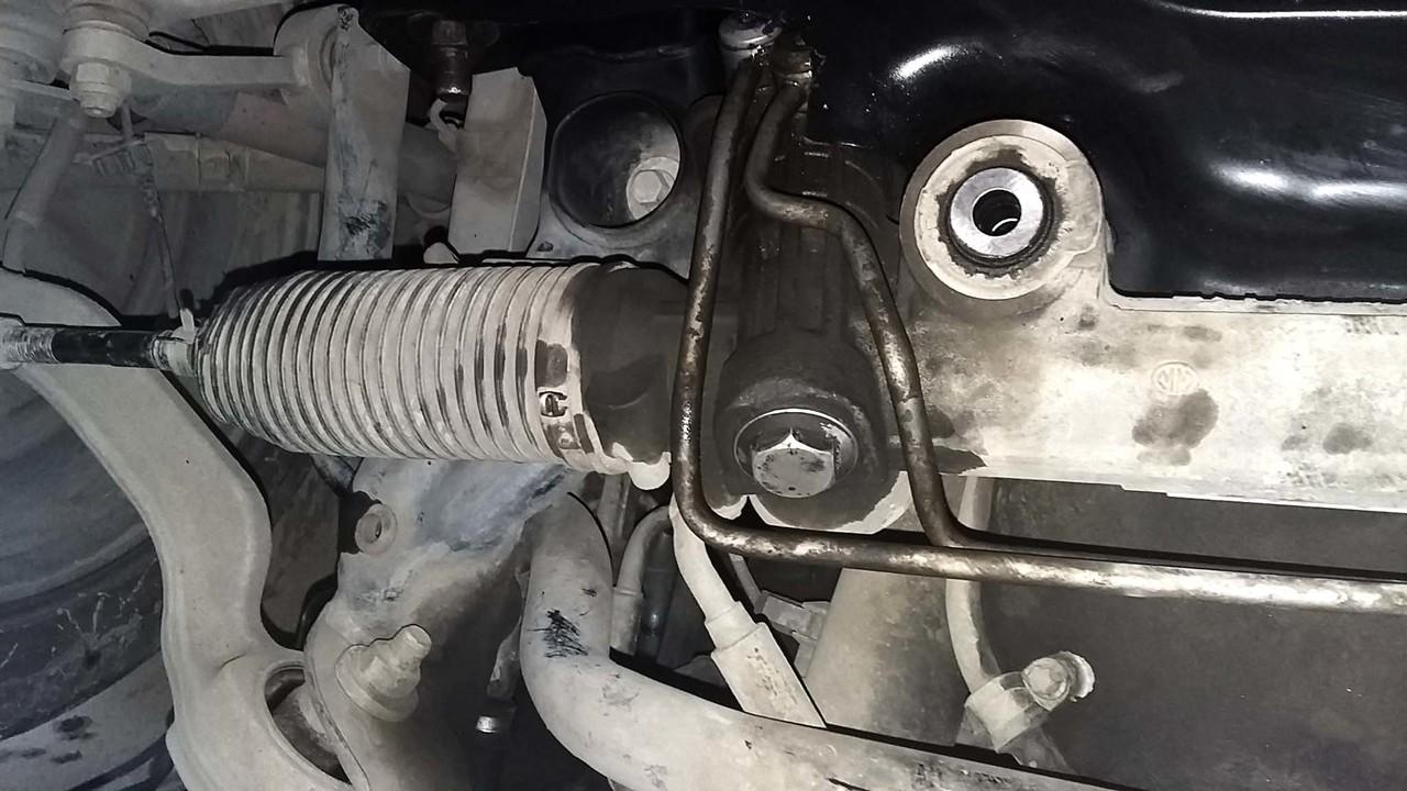 ремонт рулевой рейки своими руками мерседес #10