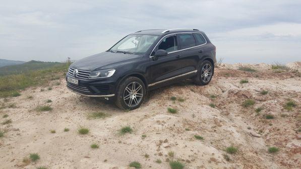 Volkswagen Touareg 2015 - отзыв владельца