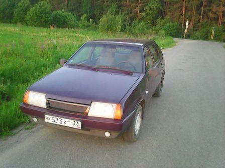 Лада 2109 1998 - отзыв владельца