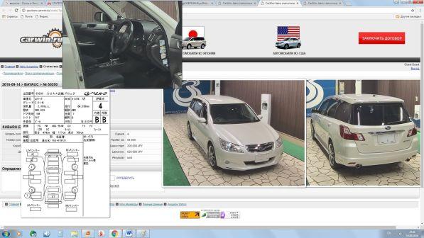 Subaru Exiga  - отзыв владельца