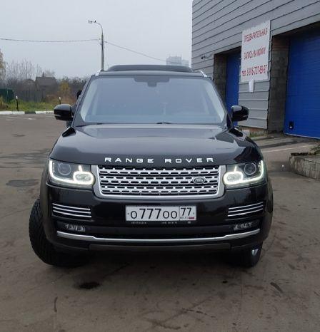 Land Rover Range Rover 2015 - отзыв владельца