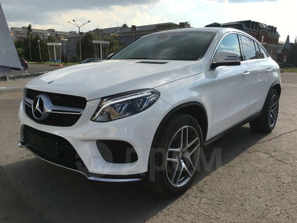 Mercedes-Benz GLE Coupe, 2016 год, 4 890 000 руб.