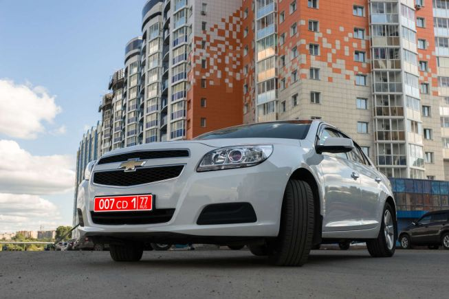 Chevrolet Malibu, 2012 год, 800 000 руб.