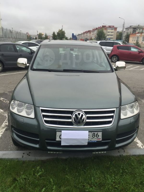 Volkswagen Touareg, 2004 год, 610 000 руб.