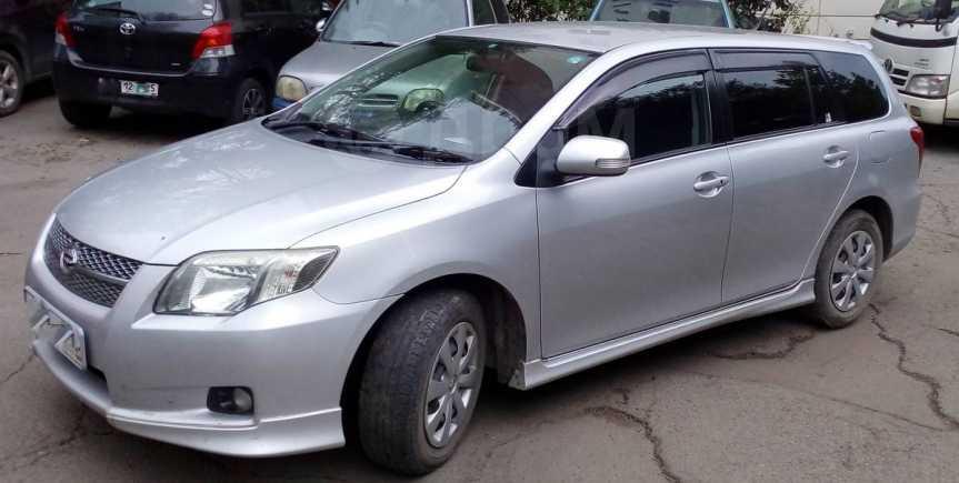 Toyota Corolla Fielder, 2007 год, 465 000 руб.