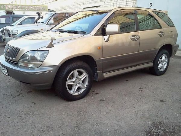 Toyota Harrier, 1999 год, 410 000 руб.