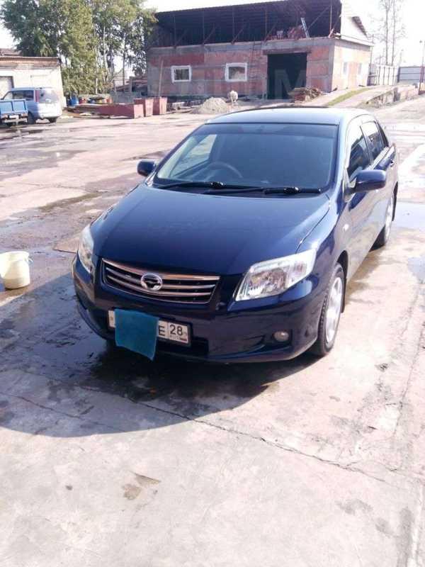 Toyota Corolla Axio, 2009 год, 460 000 руб.