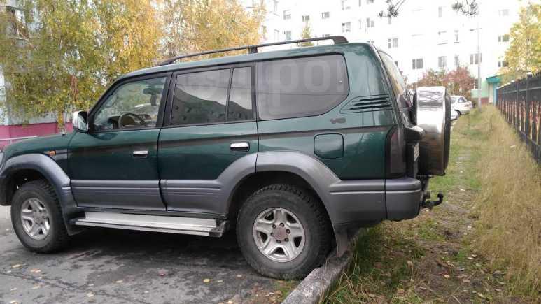 Toyota Land Cruiser Prado, 2001 год, 300 000 руб.