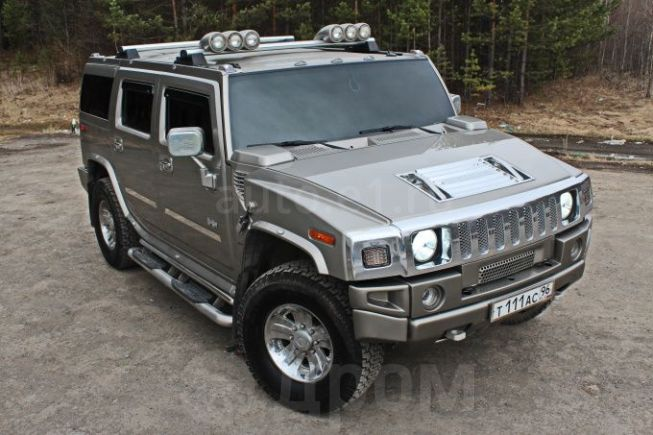 Hummer H2, 2003 год, 1 500 000 руб.