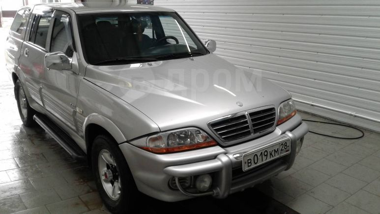 SsangYong Musso Sports, 2005 год, 444 000 руб.