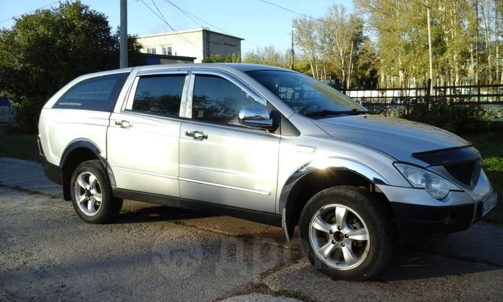 SsangYong Actyon Sports, 2008 год, 455 000 руб.