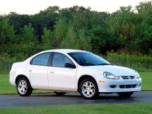 Dodge Neon 2 поколение, 09.1999 - 12.2002, Седан