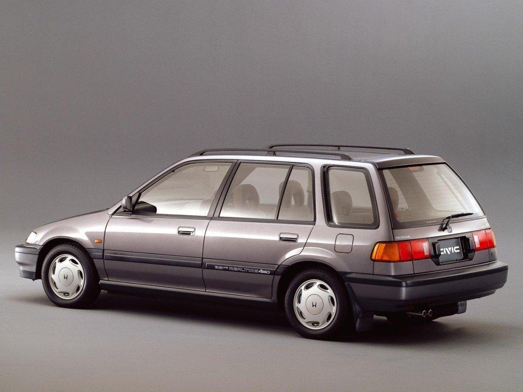 honda civic shuttle 1991 год комплектация