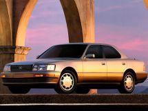 Lexus LS400 рестайлинг 1992, седан, 1 поколение, XF10