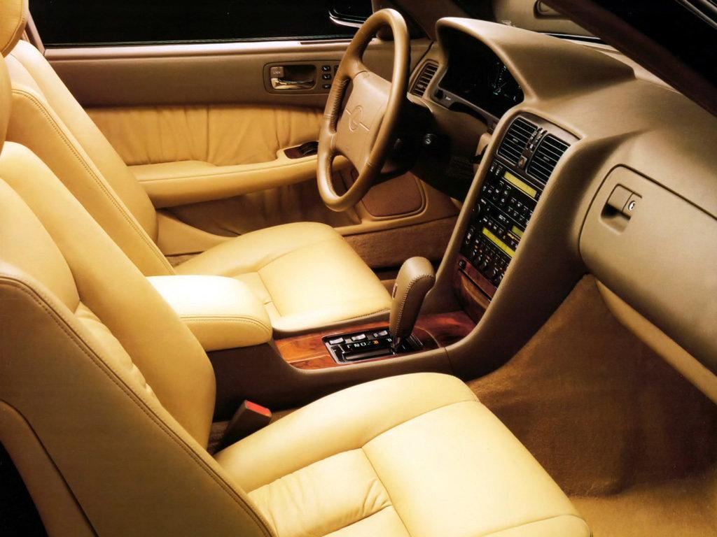 Lexus LS400 рестайлинг 1992, 1993, 1994, седан, 1 поколение, XF10 ...