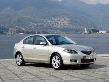 Mazda Mazda3 рестайлинг 2006, седан, 1 поколение, BK