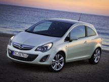 Opel Corsa рестайлинг, 4 поколение, 11.2010 - 11.2014, Хэтчбек 3 дв.