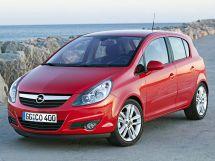 Opel Corsa 4 поколение, 05.2006 - 03.2011, Хэтчбек 5 дв.