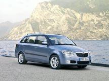 Skoda Fabia 2007, универсал, 2 поколение, MK2