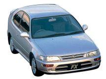 Toyota Corolla FX 1992, хэтчбек 3 дв., 3 поколение, E10