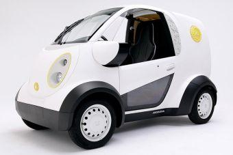 Микроавтомобиль Honda Kabuku построен на платформе VDP, которая позволяет создавать машины разного назначения, меняя лишь наружные кузовные панели.