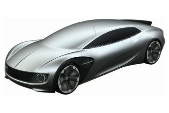 Внешне разработка Volkswagen напоминает экспериментальный Mercedes IAA 2015 года.