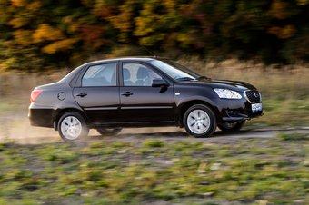 Прежде Datsun on-DO выпускался только с механической коробкой передач.