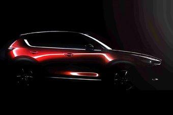 Премьера новой Mazda CX-5 состоится через две недели в Лос-Анджелесе.