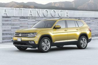 Производство Volkswagen Atlas будет вестись на заводе в Чаттануге (США). Целевым рынком для модели является Северная Америка.