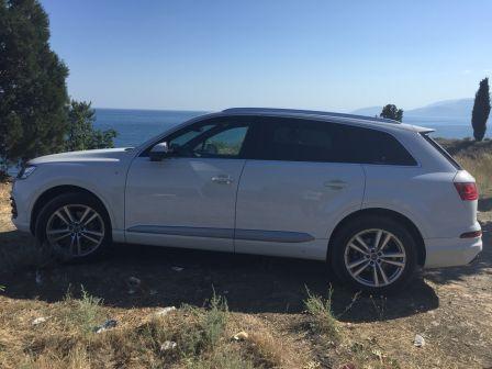 Audi Q7 2015 - отзыв владельца