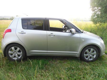 Suzuki Swift 2007 - отзыв владельца