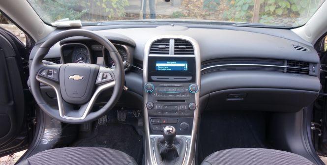 Chevrolet Malibu 2013 - отзыв владельца