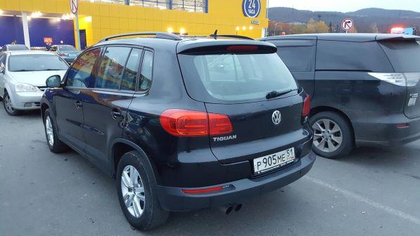 Volkswagen Tiguan 2011 - отзыв владельца