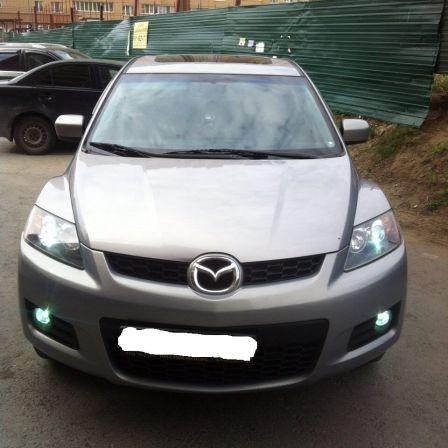 Mazda CX-7 2007 - отзыв владельца