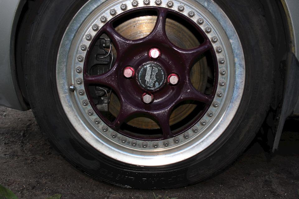Тормоза 280 мм и диски ENKEI Racing S
