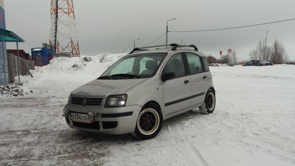 Fiat Panda 2006 - отзыв владельца