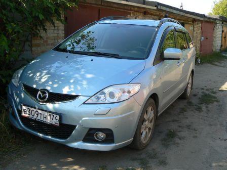 Mazda Mazda5 2008 - отзыв владельца