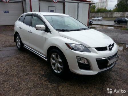 Mazda CX-7 2012 - отзыв владельца