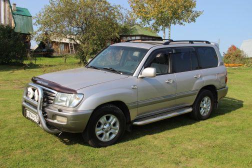 Toyota Land Cruiser 2002 - отзыв владельца