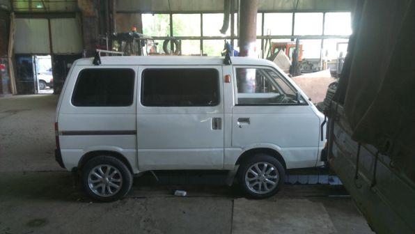 Subaru Sambar 1986 - отзыв владельца