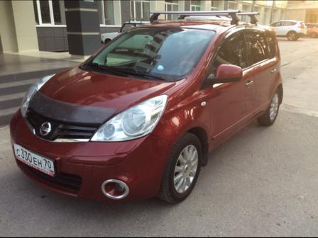 Nissan Note 2011 - отзыв владельца