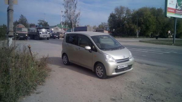Daihatsu Move 2012 - отзыв владельца
